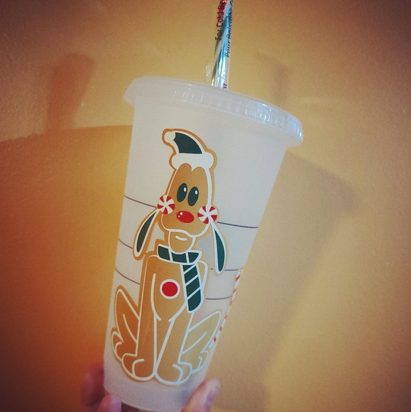 Pluto Gingerbread Starbucks Cup